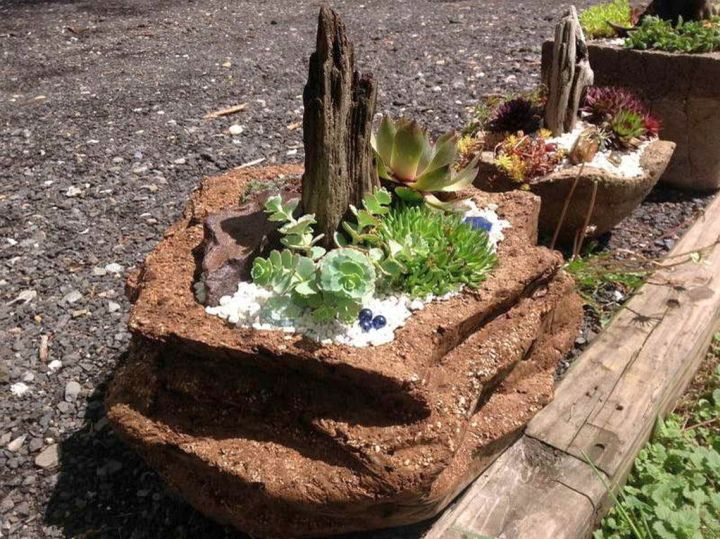 Minimalist small rock garden designs for Garden design ideas rockery