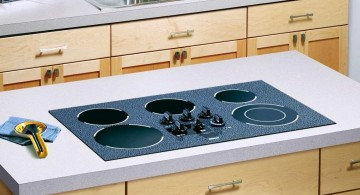modern and simple cheap countertop solution