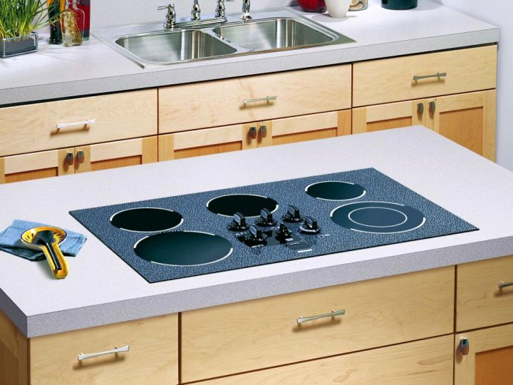 18 cheap countertop solutions for any modern kitchens for Kitchen countertop storage solutions