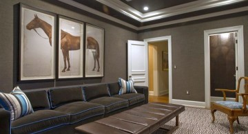 modern basement for small basements