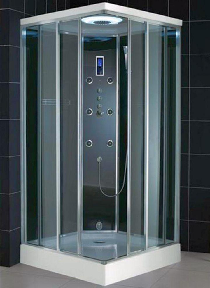 17 Streamlined Modern Glass Shower Designs