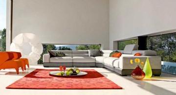 modern mah jong sofa