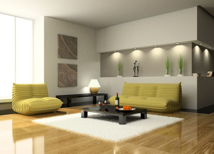 17 Modern Minimalist Living Room Ideas