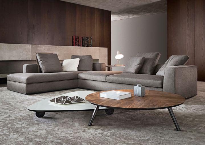 modern room arrangements by Minotti