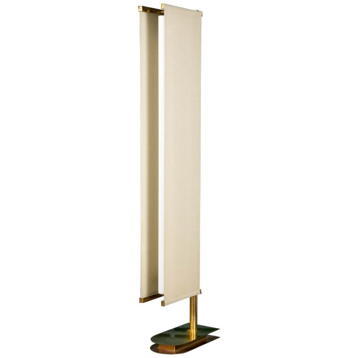 modern sail huge floor lamp
