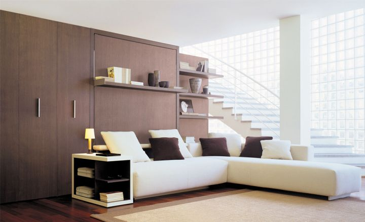 Gentil Gallery For Wall Bed Couch Design