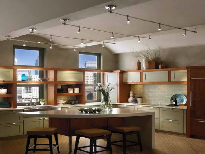 multiple lines track lighting ideas