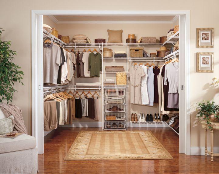 neat walk in closet furniture