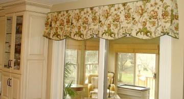 pinched bells types of valances