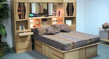 platform murphy bed unit