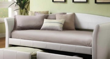 plush and cozy daybed images