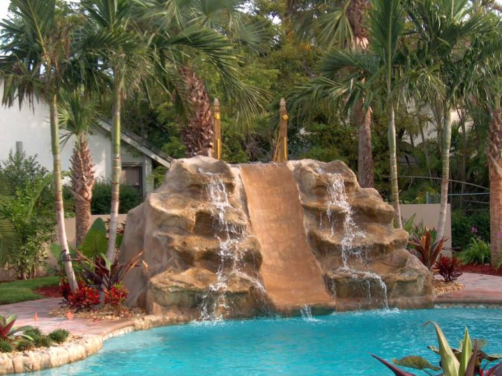 pool waterfall ideas outdoor ideas pool fountains and waterfalls gallery for pools with waterfalls ideas. beautiful ideas. Home Design Ideas