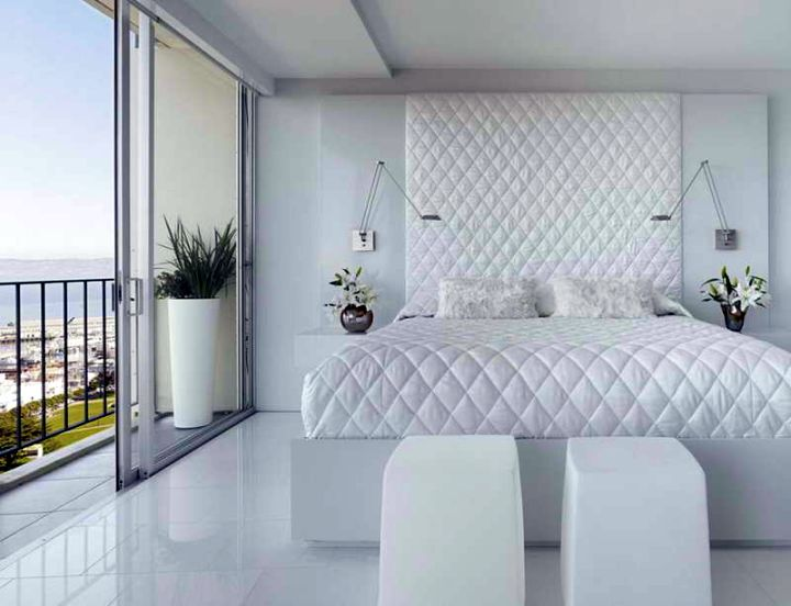 relaxing bedroom ideas in white