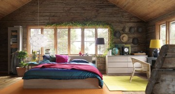 retro bedroom ideas for cabins