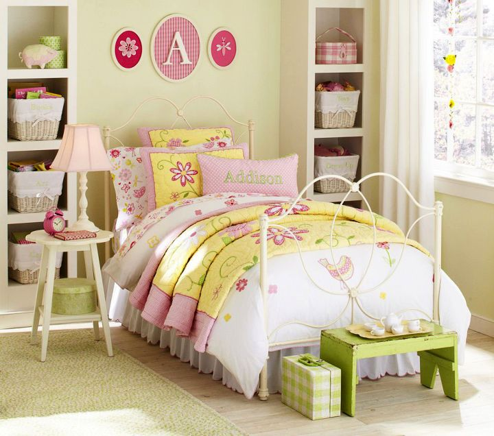 18 bewitching retro bedroom ideas for adults for Retro bedroom ideas for girls