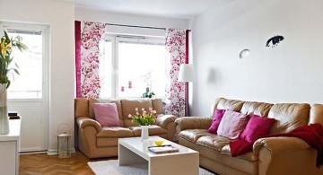 retro style simple living room