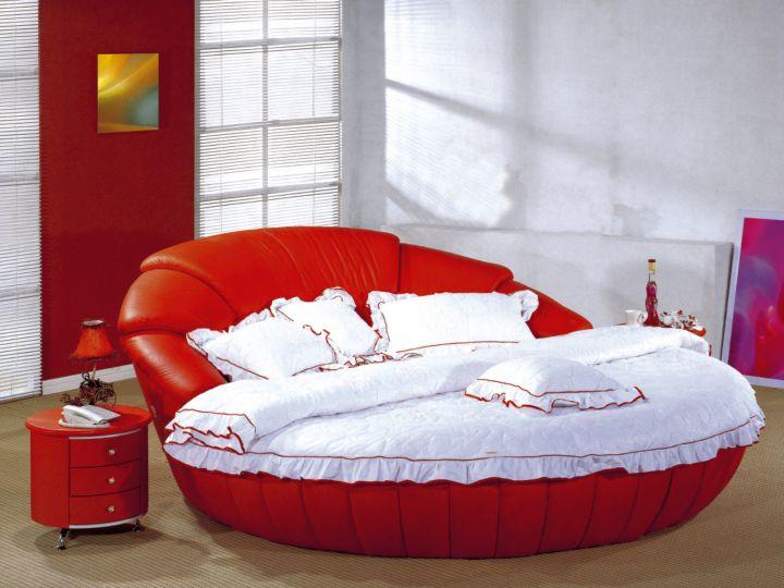 17 Contemporary Round Bed Frame Designs