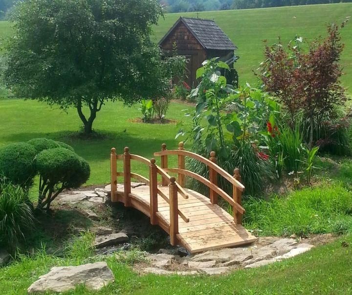 rustic Japanese garden bridge plans – Japanese Garden Plans