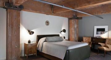 rustic bedroom basement ideas