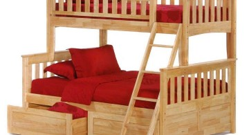 rustic bunk bed for adults