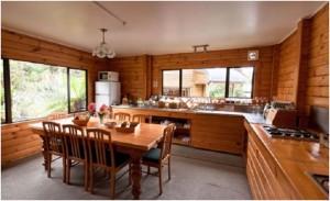 rustic eco-friendly kitchen design
