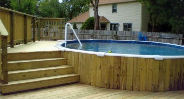 rustic small pool ideas