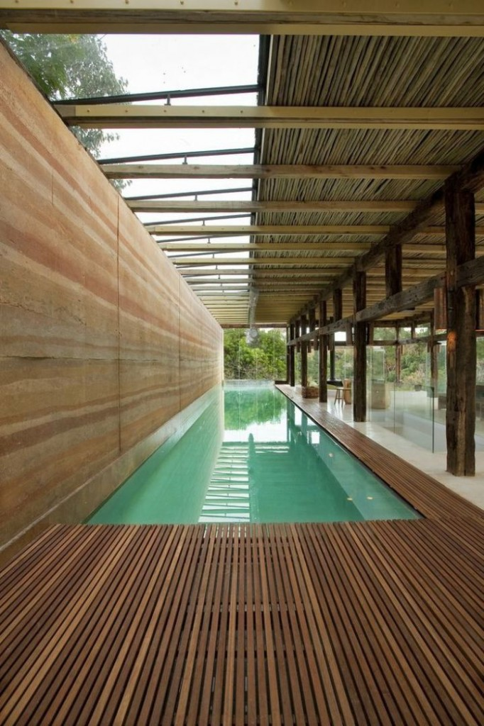 17 contemporary indoor lap pool designs ideas for Deck architecture