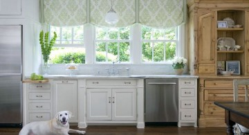 shaped flat in white types of valances