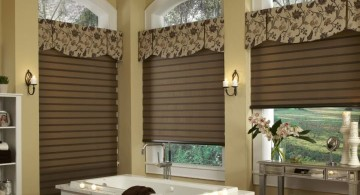shaped flat types of valances