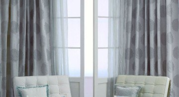 sheer curtains privacy with large dots