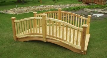 simple DIY garden bridge