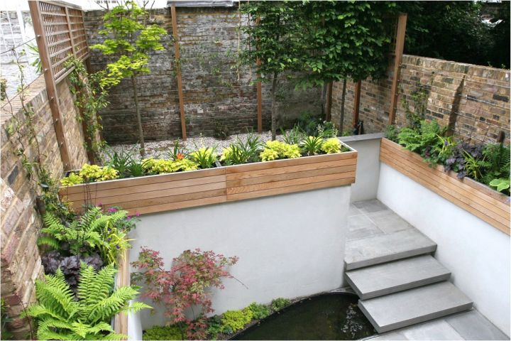 simple Japanese landscape design for small space
