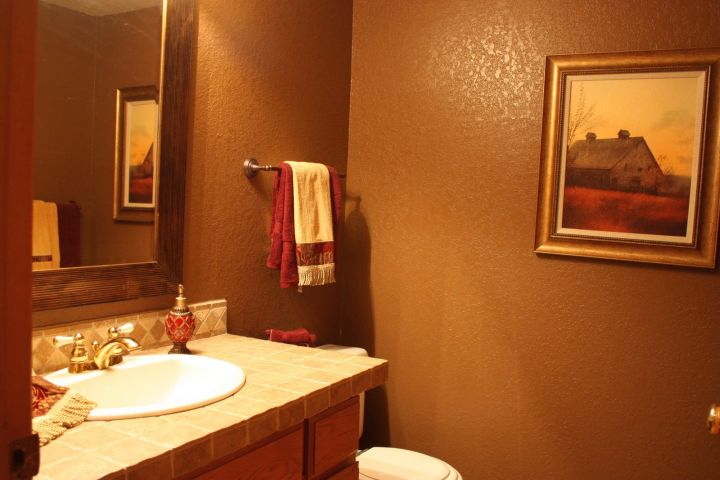 Bathroom Decorating Ideas With Brown : Sweet chocolate brown bathroom decorating ideas