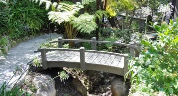 simple beautiful Japanese garden bridge plans
