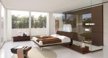 simple bedroom set Italian furniture maker