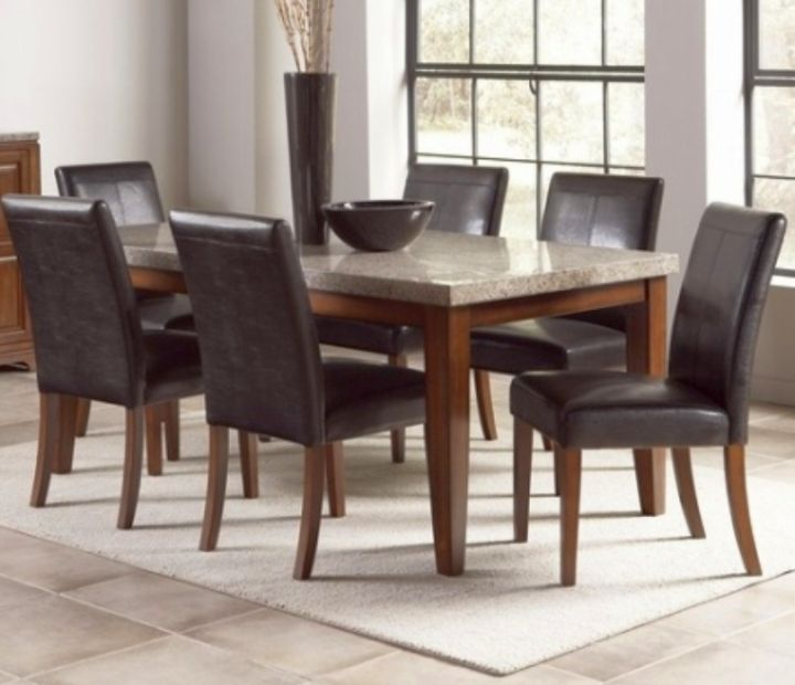 Granite Round Dining Table: 17 Amazing Granite Dining Room Table Designs
