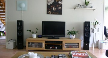 simple living room tv ideas
