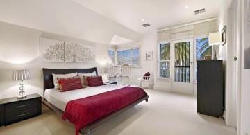 simple minimalist asian inspired bedroom