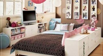 simple minimalist retro bedroom ideas