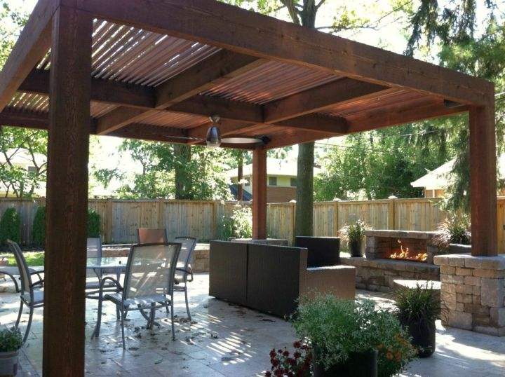 19 modern pergola kit designs for your outdoor shade for Simple pergola ideas