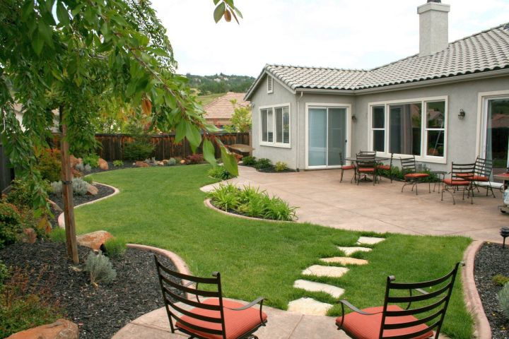 simple rock garden ideas for back yard