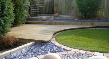 simple rock garden ideas for the corner