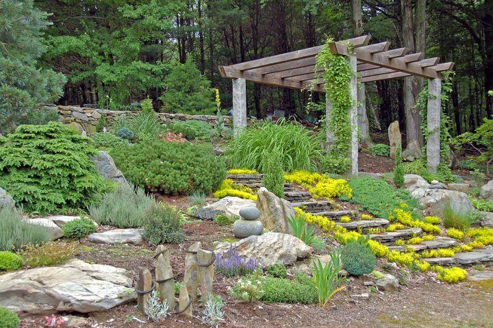 Gallery For Simple Rock Garden Ideas
