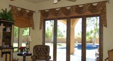 simple swag types of valances