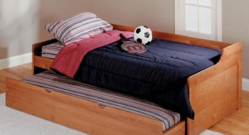 simple unique trundle beds