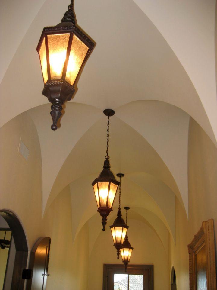 simple vaulted beautiful ceilings