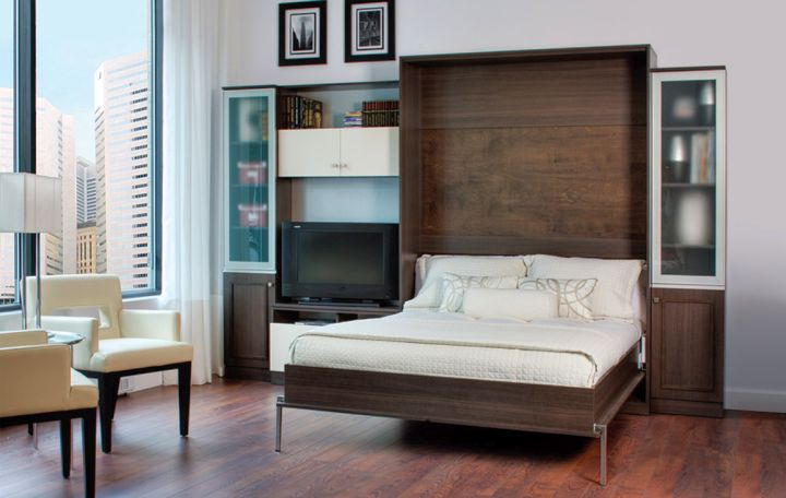 simple wall bed couch