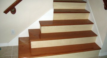 simple wood staircase