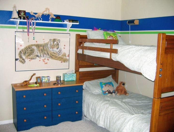 small details for Dinosaur themed bedroom
