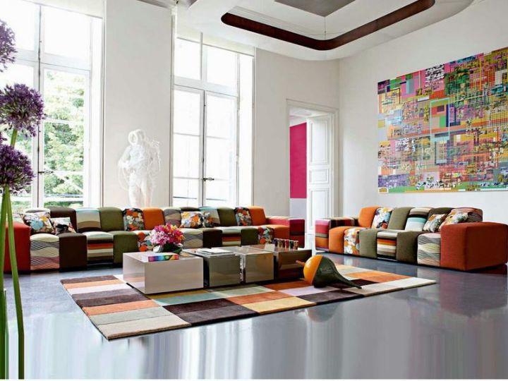 small mah jong sofa